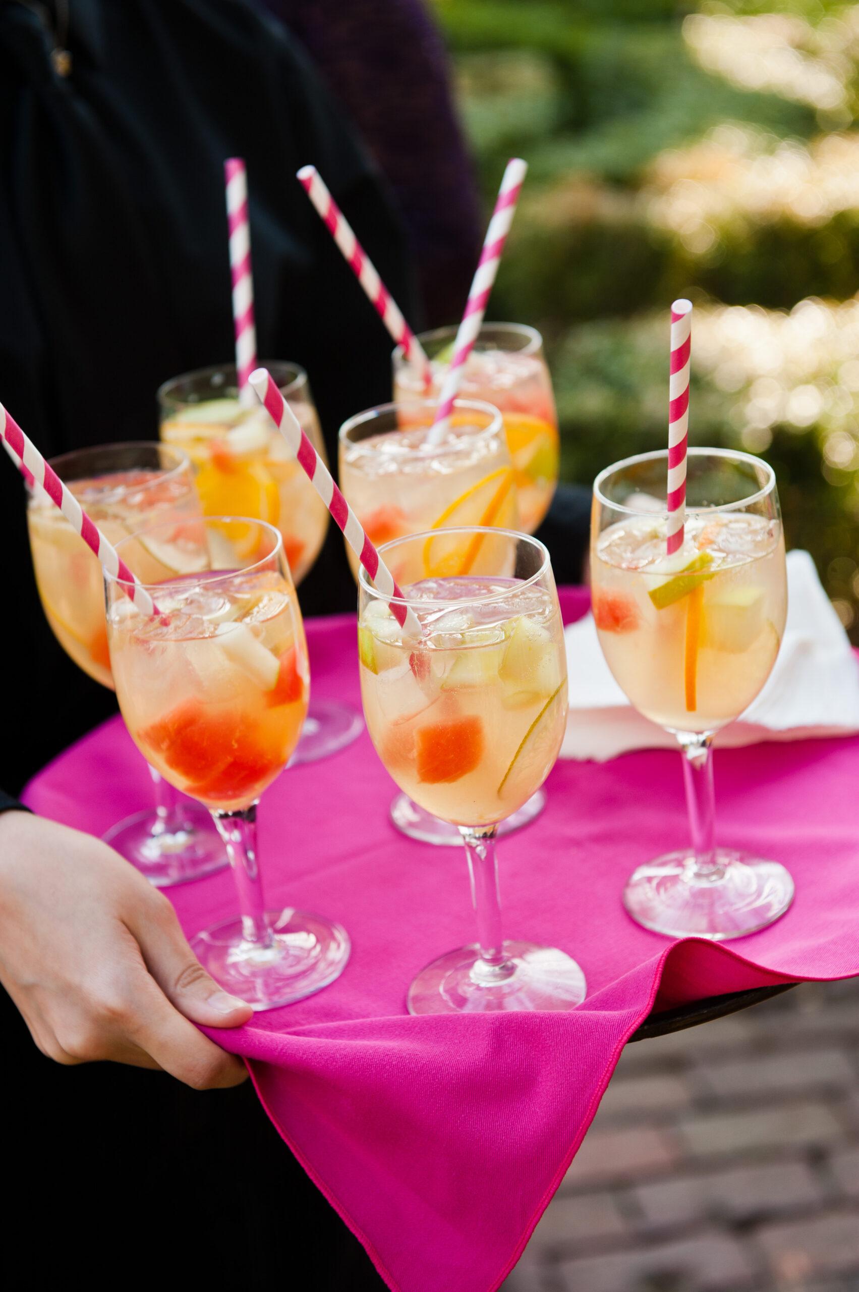 summer signature wedding cocktails philly weddings