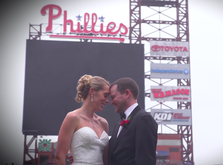 Phillies-themed Wedding