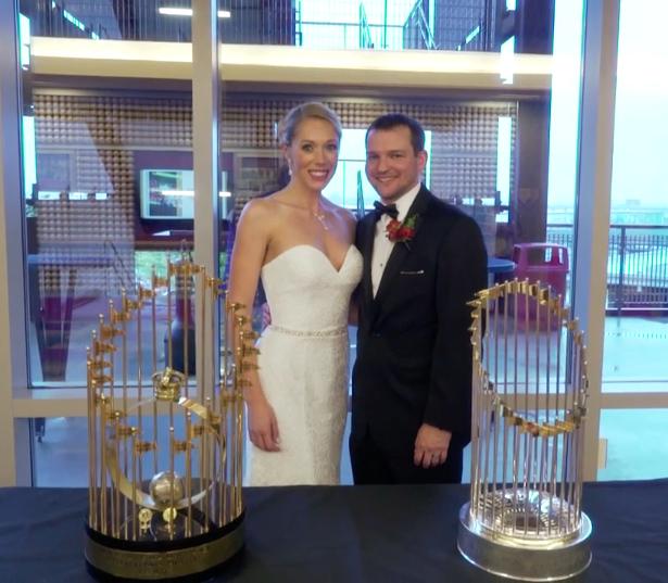 Phillies-themed Wedding