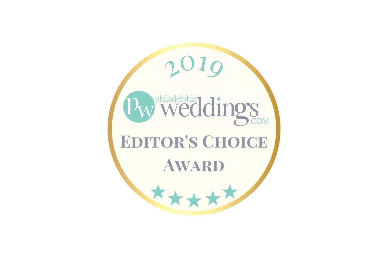 Philadelphia Weddings 2019 Editors Choice Award