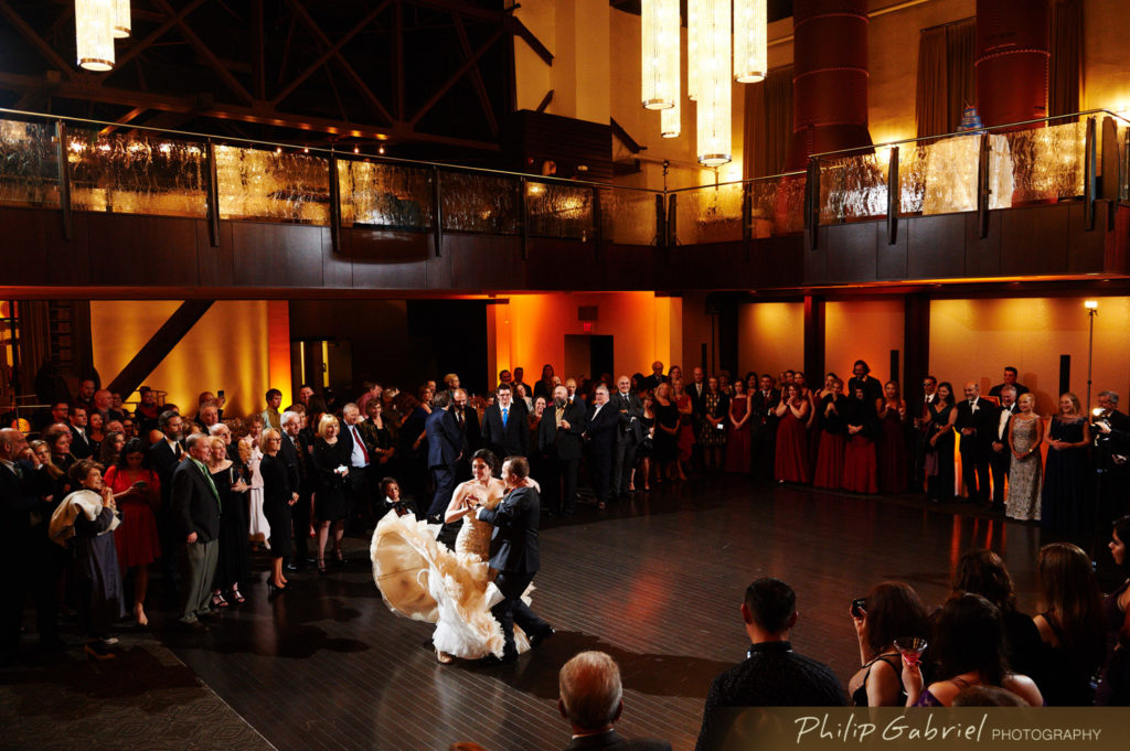 Phoenixville Foundry Cupola Ballroom Wedding Photo by Philip Gabriel Photography