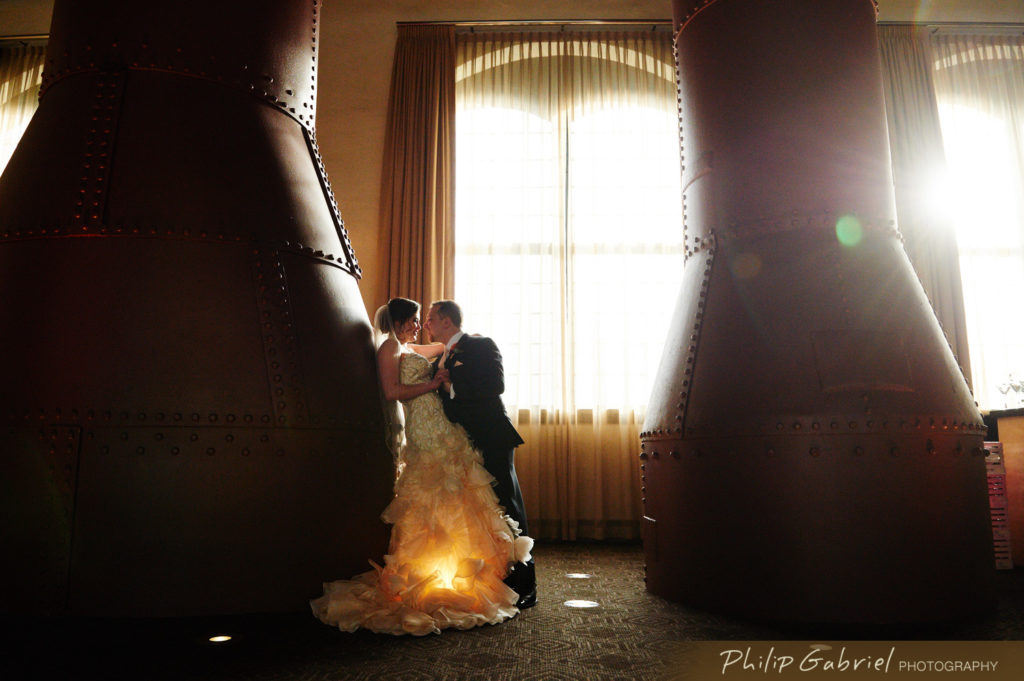 Phoenixville Foundry Wedding Photo by Philip Gabriel Photography