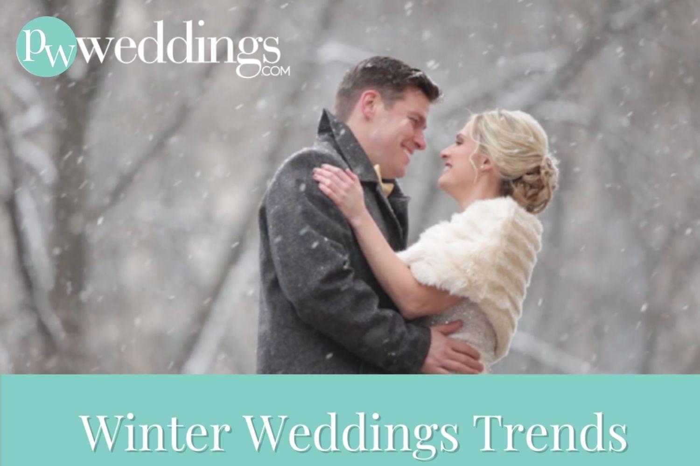 Winter Wedding Photo by Allure Films