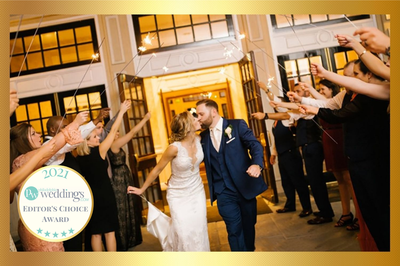 Drexelbrook Editors Choice Newly Married Couple