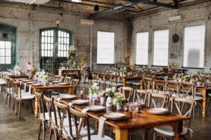 BLDG 39 Beautiful Wedding Venue Dinner