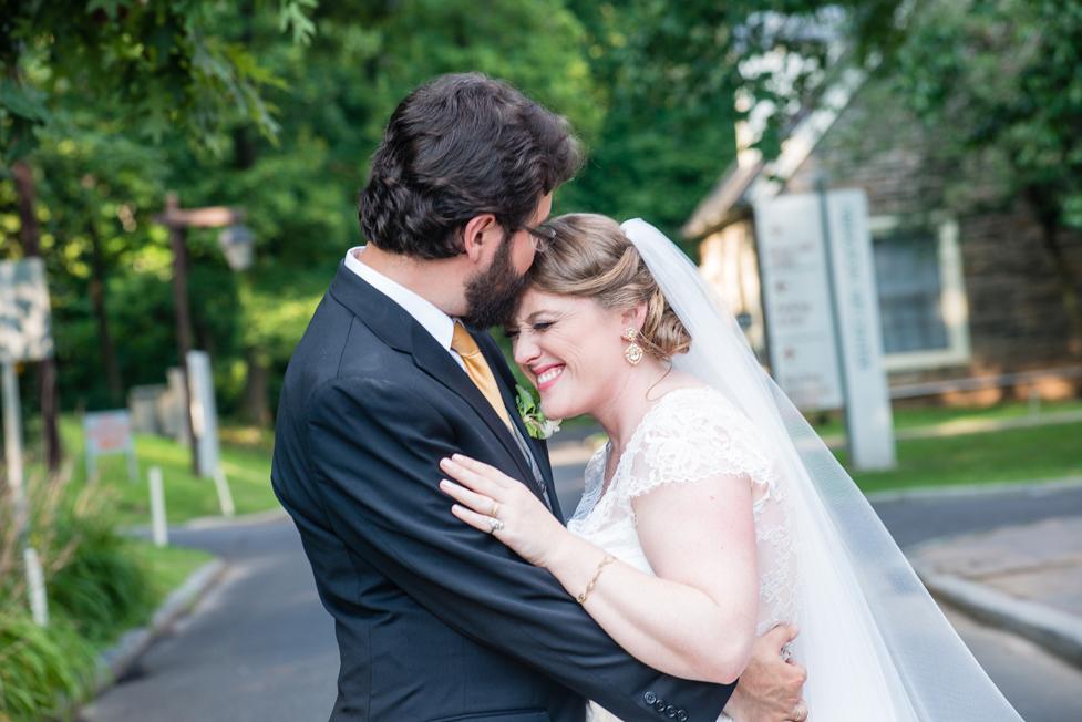 AMC Photography Studios Wedding Photographer Husband Kissing Bride