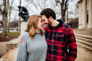 Philadelphia Museum of Art Engagement Photo by Morby Photography