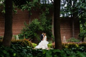 Philadelphia Wedding Photographer Bride And Groom Outside